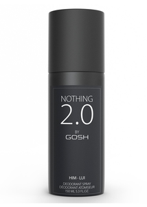 GOSH Nothing 2.0 for Men Deo, Męski dezodorant perfumowany, 150 ml