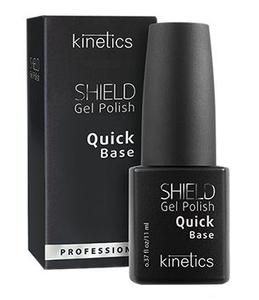 KINETICS Shield Quick Base Coat, Baza hybrydowa do paznokci, 11 ml