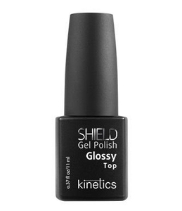 KINETICS Shield Top Glossy, Top hybrydowy do paznokci, 11 ml