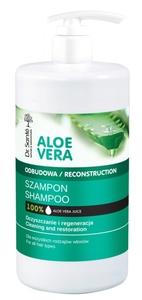 DR. SANTE Aloe Vera, Szampon wzmacniający do włosów z aloesem i keratyną, każde włosy, 1000 ml