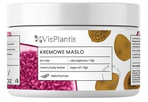 VIS PLANTIS Herbal Vital Care, Odmładzające masło do ciała, olejek arganowy i figi, 250 ml