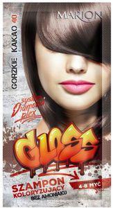 MARION Gloss, Szampon koloryzujący bez amoniaku, 40- Gorzkie Kakao, 40 ml