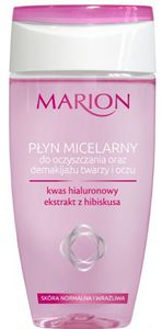 MARION, Płyn micelarny do oczyszczania i demakijażu oczu i twarzy, 150 ml