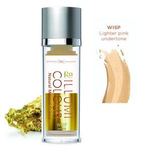 RHONDA ALLISON Illumi Colour Matte, Matujący fluid mineralny Wisp, cera tłusta i mieszana, 30 ml