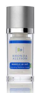 RHONDA ALLISON Mandelic Au Lait, Lekki krem nawilżający z kwasem migdałowym, cera problematyczna, 15 ml