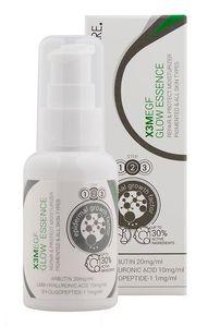 CLINICCARE EGF Glow Essence, Rozjaśniająca i odmładzająca esencja do twarzy, cera z przebarwieniami i wrażliwa, 50 ml