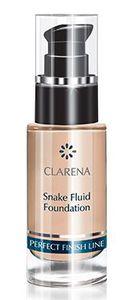 CLARENA Snake Fluid Foundation, Ujędrniający podkład z jadem węża, odcień Mocha, 30 ml