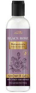 JOANNA Botanicals for Home SPA Black Rose, Kremowy żel pod prysznic z ekstraktem z czarnej róży, skóra sucha, 240 ml