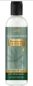 JOANNA Botanicals for Home SPA Cannabis Seed, Kremowy żel pod prysznic z ekstraktem z konopi, każda skóra, 240 ml