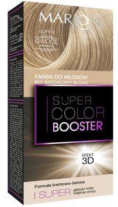 MARION Super Color Booster, Kremowa farba do włosów 3D, 511 Migdałowy Blond, 1 op.