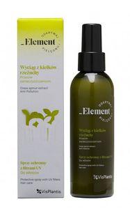 VIS PLANTIS Element Wyciąg z Kiełków Rzeżuchy,  Spray ochronny z filtrami UV do włosów, 150 ml