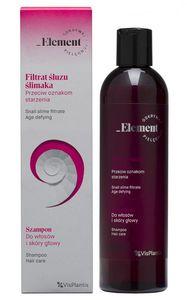 VIS PLANTIS Element Filtrat Śluzu Ślimaka, Szampon do włosów i skóry głowy, 300 ml