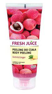 GREEN PHARMACY Fresh Juice, Peeling do ciała Liczi i Imbir, 200 ml