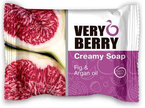 GREEN PHARMACY Very Berry, Kremowe mydło do ciała Figi i Olej Arganowy, 100g