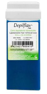 DEPIFLAX, Wosk do depilacji ciała w rolce Azulen, 110g