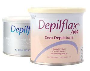 DEPIFLAX, Wosk do depilacji w puszce Azulen, 500 ml