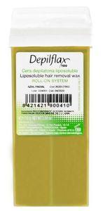 DEPIFLAX, Wosk do depilacji ciała w rolce Naturalny, 110g