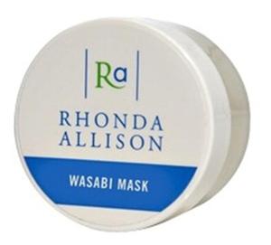 RHONDA ALLISON Wasabi Mask, Pobudzająca maska do twarzy, cera trądzikowa, tłusta i mieszana, 15 ml