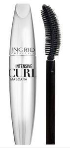 INGRID Pump It Up Intensive Curly Mascara, Ekstremalnie podkręcający tusz do rzęs, czarna, 5 ml
