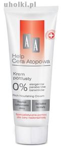 AA Help Cera Atopowa, Krem półtłusty bezzapachowy, 50 ml