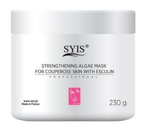 SYIS Strengthening Algae Mask, Wzmacniająca maska algowa z eskuliną, cera naczyniowa, 230g