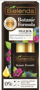 BIELENDA Botanic Formula Olej z Czarnuszki + Czystek, Olejek przeciwzmarszczkowy, każda cera, 15 ml