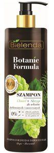 BIELENDA Botanic Formula Łopian + Pokrzywa, Szampon do włosów przetłuszczających się, 400 ml
