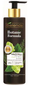 BIELENDA Botanic Formula Chmiel + Skrzyp, Odżywka do włosów zniszczonych i farbowanych, 245 ml