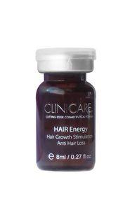CLINICCARE Hair Energy, Ampułki przeciw wypadaniu włosów i pobudzające ich wzrost, 10x8 ml