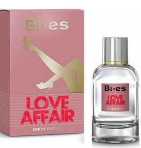 BI-ES Love Affair EDP, Damska woda perfumowana, linia drzewno-owocowa, 100 ml