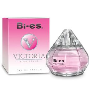 BI-ES Victoria EDP, Damska woda perfumowana, linia kwiatowo-owocowa, 100 ml