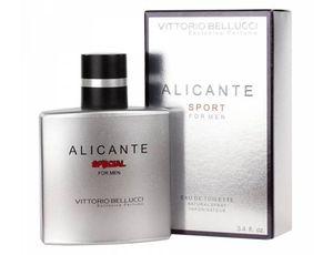 VITTORIO BELLUCCI Alicante Special EDT, Męska woda toaletowa, linia owocowo-drzewna, 100 ml