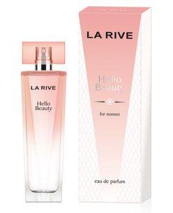 LA RIVE Hello Beauty EDP, Damska woda perfumowana, linia owocowo-drzewna, 100 ml