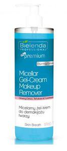 BIELENDA Professional Skin Breath, Micelarny krem-żel do demakijażu twarzy, każda cera, 500g