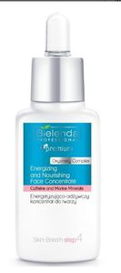 BIELENDA Professional Skin Breath, Energetyzująco-odżywczy koncentrat do twarzy, każda cera, 30 ml