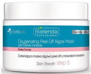 BIELENDA Professional Skin Breath, Dotleniająca maska algowa peel Off z minerałami morskimi, każda cera, 80g