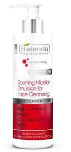 BIELENDA Professional Post Treatment Care, Kojąca micelarna emulsja do oczyszczania twarzy, każda cera, 200 ml