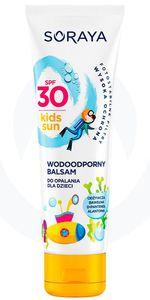 SORAYA Sun Care, Wodoodporny balsam do opalania dla dzieci SPF 30, 100 ml