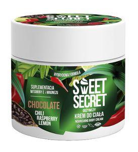 FARMONA Sweet Secret, Odżywczy krem hybrydowy do ciała Czekolada z Chili i Owocami, 200 ml