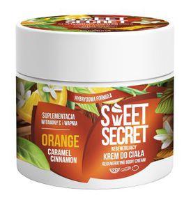 FARMONA Sweet Secret, Regenerujący krem hybrydowy do ciała Pomarańcza-Karmel-Cynamon, 200 ml