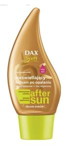 DAX Sun, Balsam po opalaniu rozświetlający z drobinkami, 175 ml