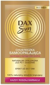 DAX Sun, Chusteczka samoopalajaca do twarzy i ciała, każda karnacja, 1 szt