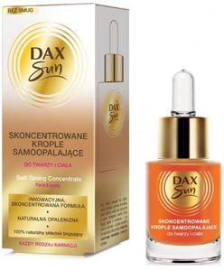 DAX Sun, Koncentrat samoopalający w kroplach do twarzy i ciała, 15 ml
