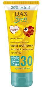 DAX Sun, Krem ochronny dla dzieci i niemowląt SPF 30, 75 ml