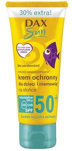 DAX Sun, Krem ochronny dla dzieci i niemowląt SPF 50, 75 ml