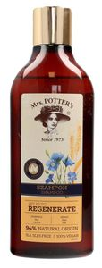 MRS POTTERS Triple Grain, Szampon do włosów zniszczonych Regenerate, 390 ml