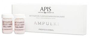 APIS Professional Ampułki, Regenerujący aktywator z liofilizowanymi malinami, każda cera, 5x5 ml