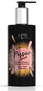 APIS Linia Perfumowana, Rozświetlający balsam do ciała Passion Love, 300 ml