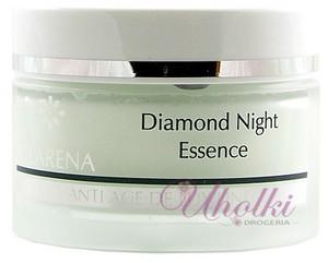 CLARENA Diamond Night Essence, Diamentowa, regenerująca esencja na noc dla cery dojrzałej, 50 ml