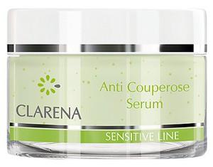 CLARENA Anti Couperose Serum, Serum wzmacniające dla cery naczynkowej, 50 ml